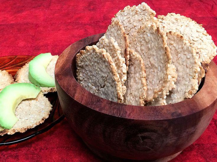 Recetas fáciles para 20  botanas mexicanas: Tostaditas de ajonjolí