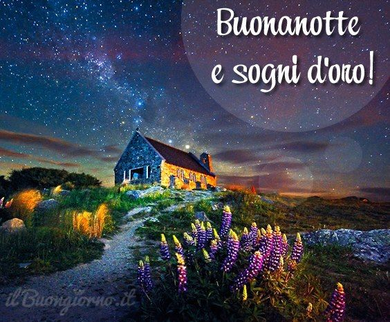 #Buonanotte