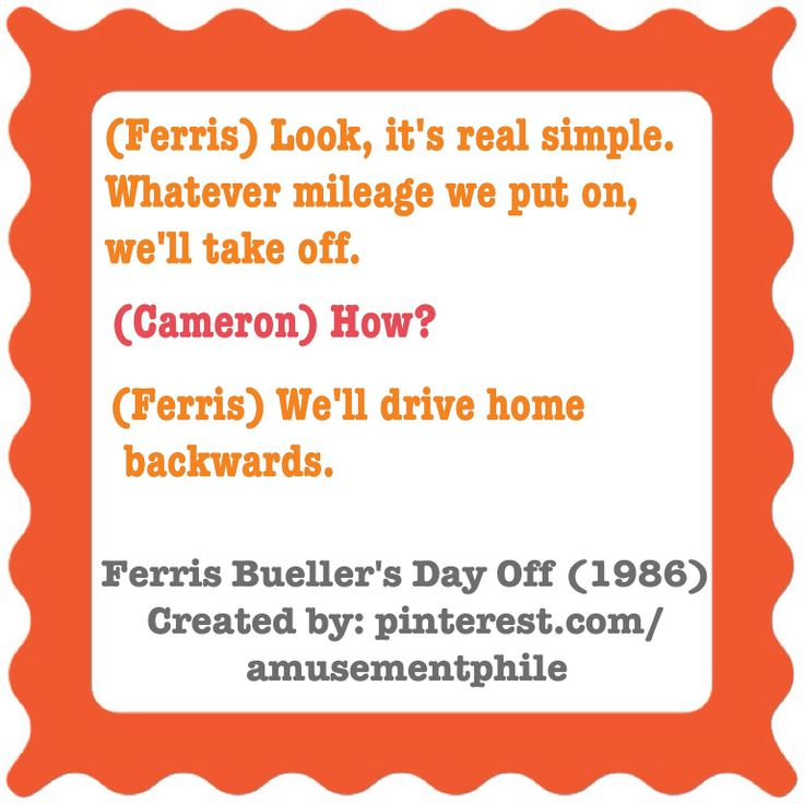 Ferris Bueller Quote: 17 Best Images About Ferris Bueller's Day Off Quotes On