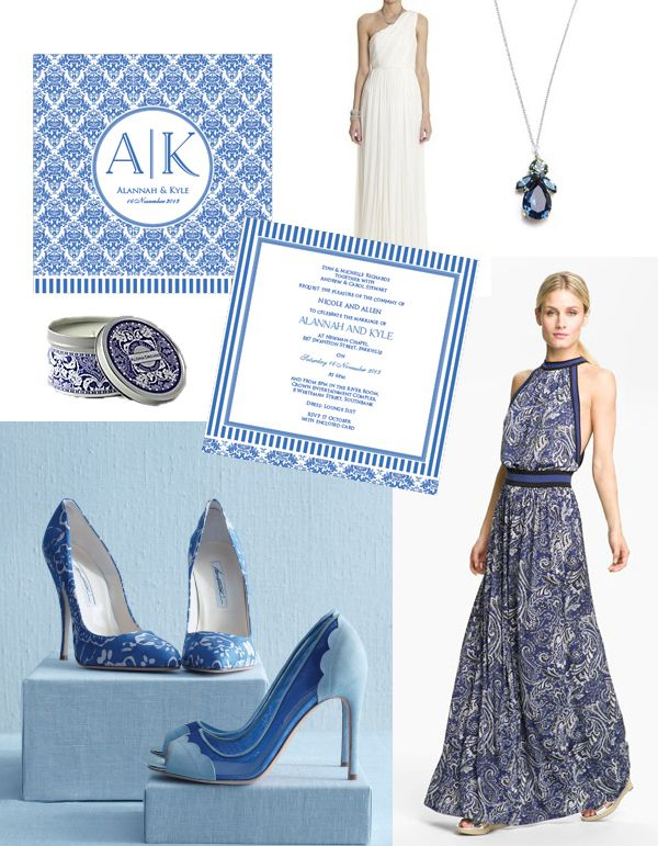 Mediterranean Muse {beautiful blue and white inspiration}