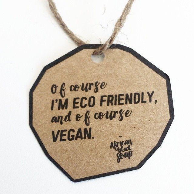 Of course!  We love naked packaging and brown kraft paper.  #vegan #organic #eco #ekologisk #naturlig #nature #natural #byttilleko 3#africanmore www.bodybazar.com