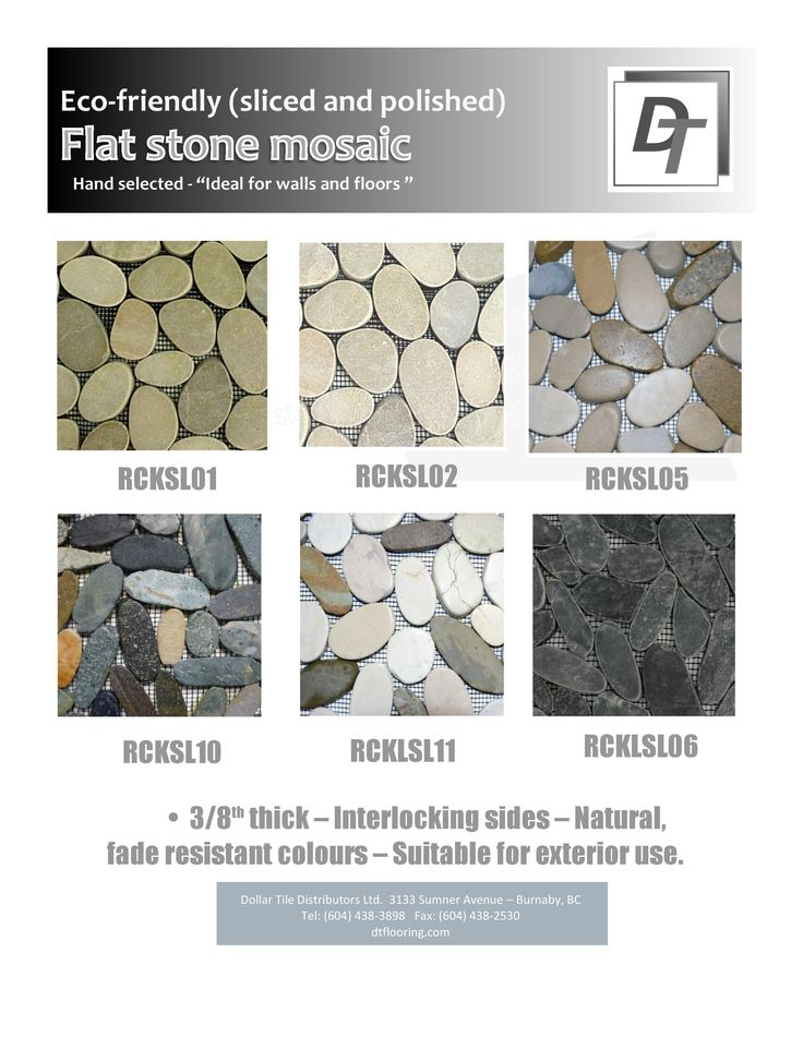 Our flat stone collection.