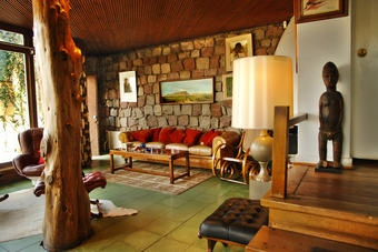 Sala de Visitas na casa de Pablo Neruda em Santiago, Chile