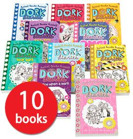 Dork Diaries is a bestselling series around the world - and this 10-book collection will introduce children to Nikki Maxwell and her fun-filled diary!