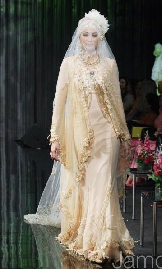 muslim wedding gown Love it!