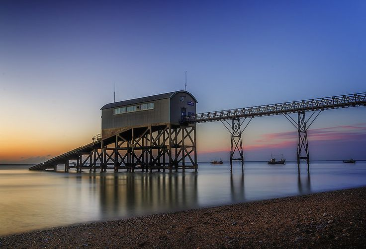 A Quiet Shift Selsey Bill Lifeboat Station