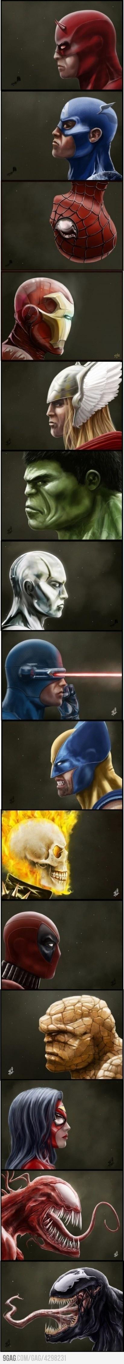 Best Marvel Superheros