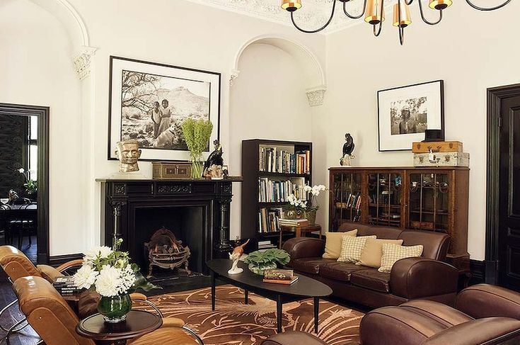 """Or a moderately fancy living room… 