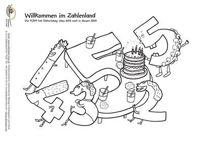 numberland coloring pages - photo#43