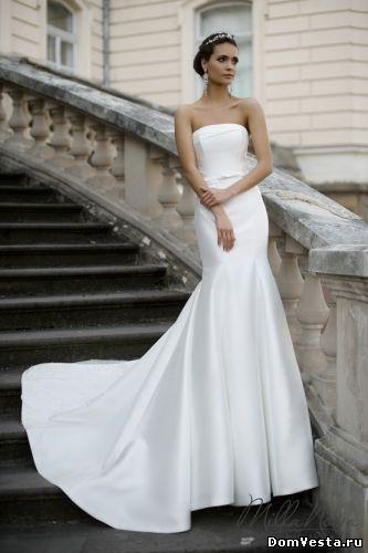 Открытое свадебное платье в стиле рыбка (#08 905), цена 58300 руб. | «Дом Весты»