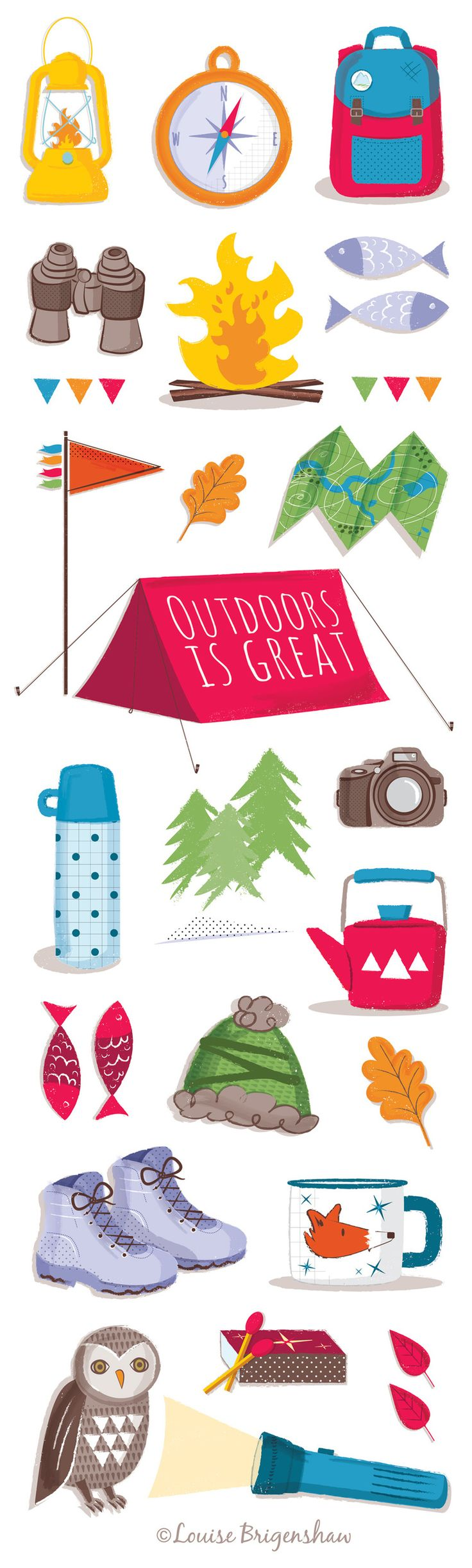 Camping Icon illustration by Louise Brigenshaw.jpg