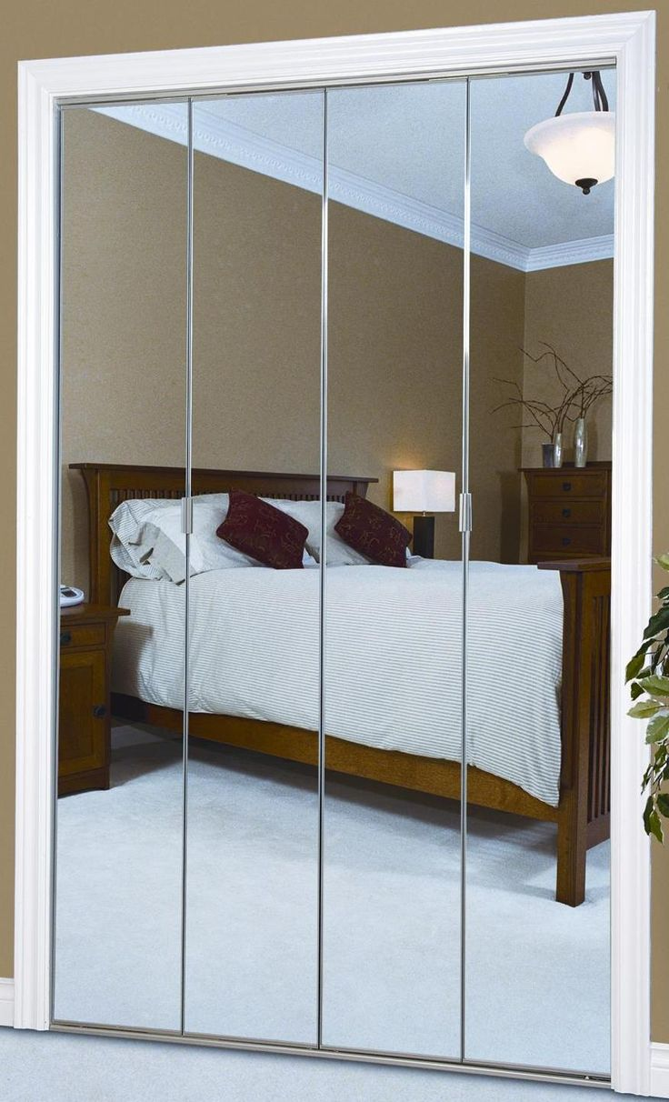63 best images about bedroom on pinterest closet doors wardrobes and mirrored wardrobe for Folding closet doors for bedrooms