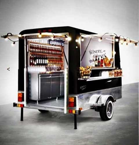 trailer gastronomico food truck homologado y patentable !
