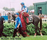 Smarty Jones, Oaklawn in Hot Springs favorite horse