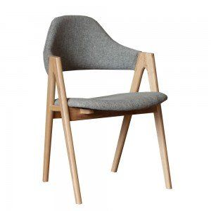 Grey Weave & Ash Sergio Dining Chair$329 ea