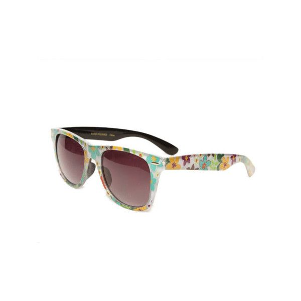 Papaya Clothing Online :: W-406 SUNGLASSES ($5.99) ❤ liked on Polyvore featuring accessories, eyewear and sunglasses