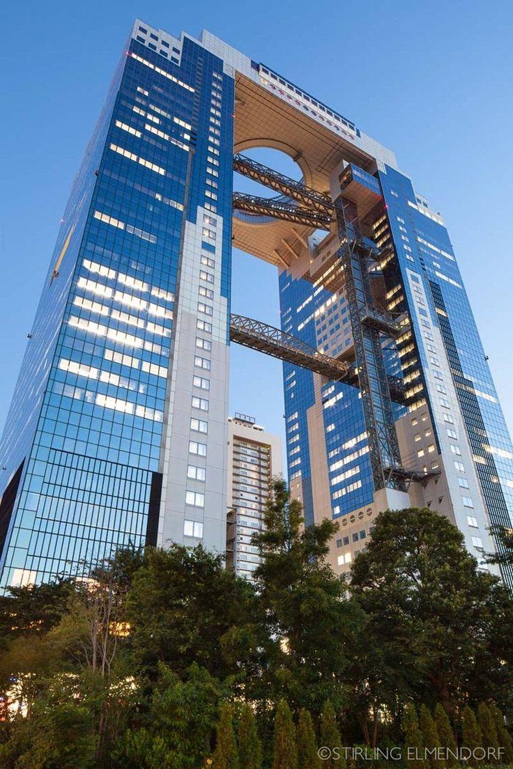 Umeda Sky Building, Osaka, 1993 - Stirling Elmendorf