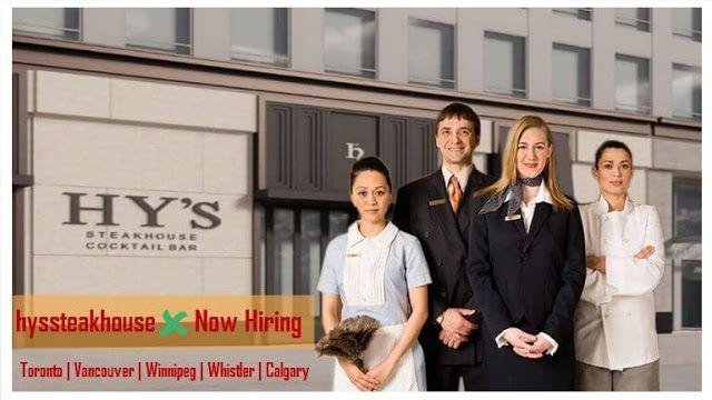 Apply Jobs Vacancy Hy S Steakhouse Restaurant Canada Apply Job