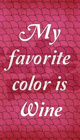 My favorite color!