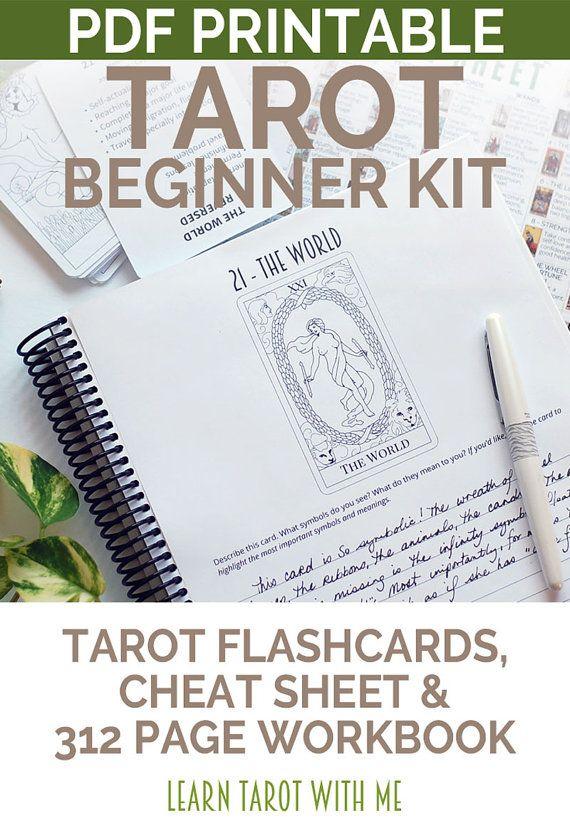 Tarot Beginner's Kit Learn the Tarot Card door LearnTarotWithMe