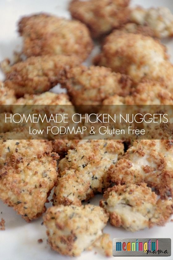 If you have kids in the family (and even if you don't) you will want these Low Fodmap Baked or Air Fried Chicken Nuggets in your cooking repertoire. They are easy!