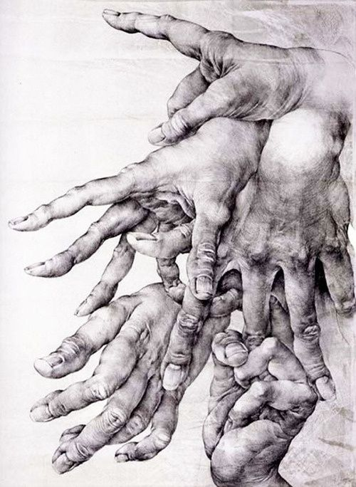 Hands by Oldřich Kulhánek #hands #fingers #mani #main - Carefully ...