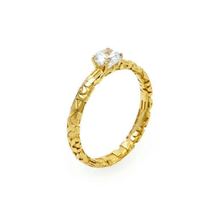 monomer // Ringe / Verlobung / Hochzeit / gold / Modell Verlobungsring