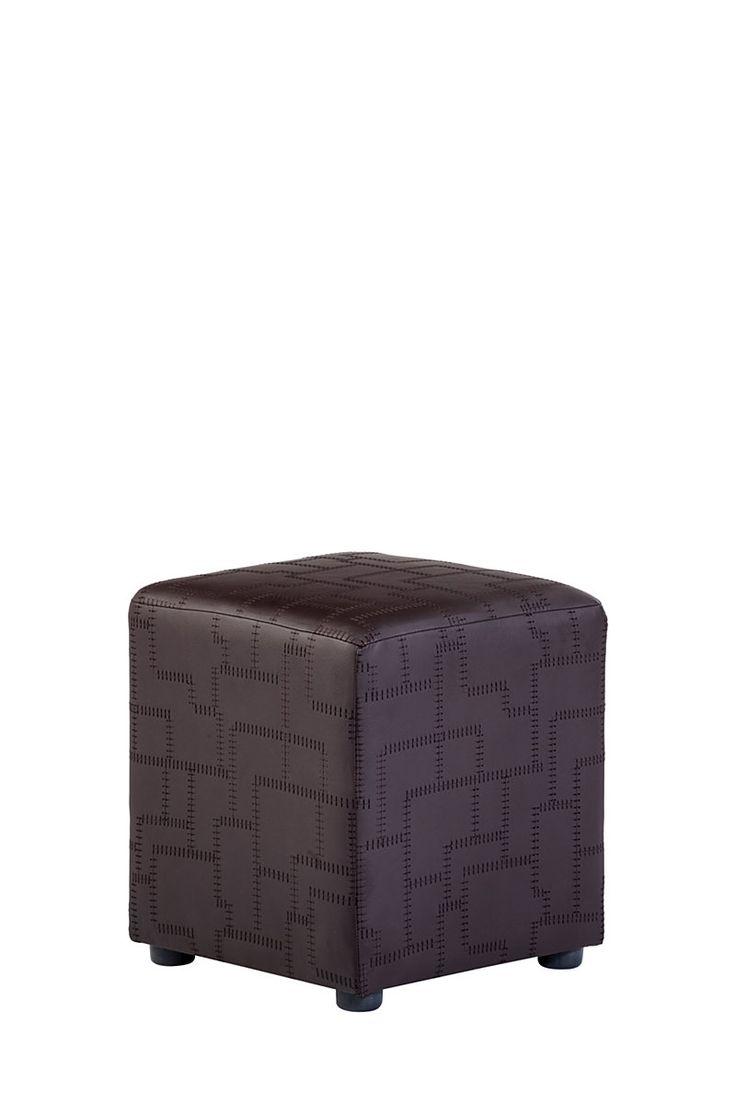 Square Stitch Pu Cube