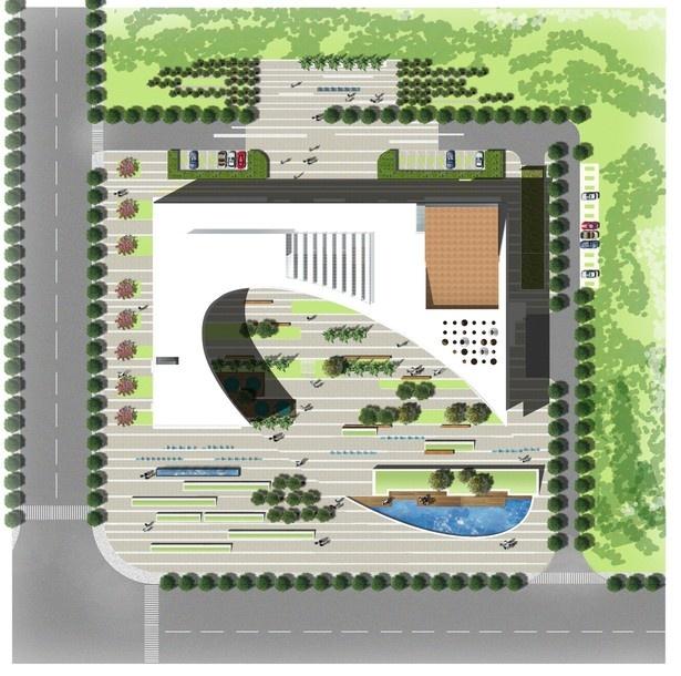 Haxi Town Plaza Building | Zeybekoglu Nayman Associates | Archinect