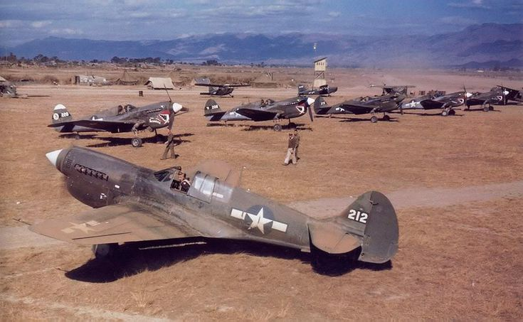 Curtiss P-40N 25th Fighter Squadron