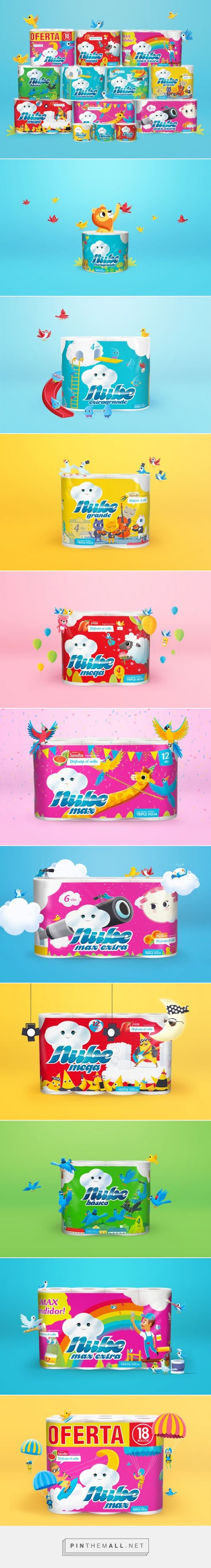 Nube (Cloud) Packaging - Packaging of the World - Creative Package Design Gallery - http://www.packagingoftheworld.com/2016/05/nube-cloud-packaging.html
