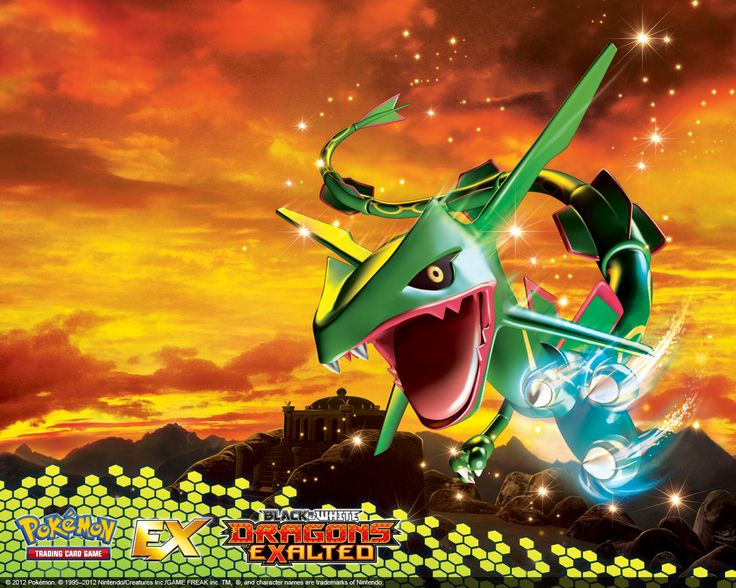 emerald rayquaza wallpapers - photo #47