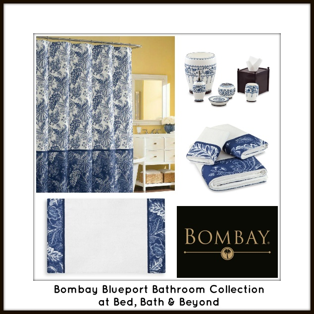 Bed Bath And Beyond Bath Accessories: Our Bombay Blueport Accessories At Bed, Bath & Beyond Add