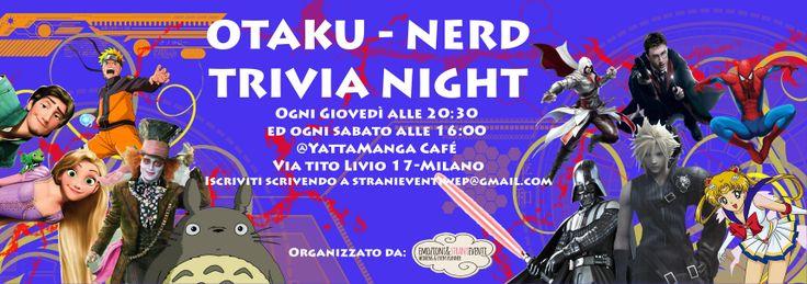 Tutte le info del campioanto Otaku-nerd al link https://www.facebook.com/events/657467760961681/?ref_newsfeed_story_type=regular