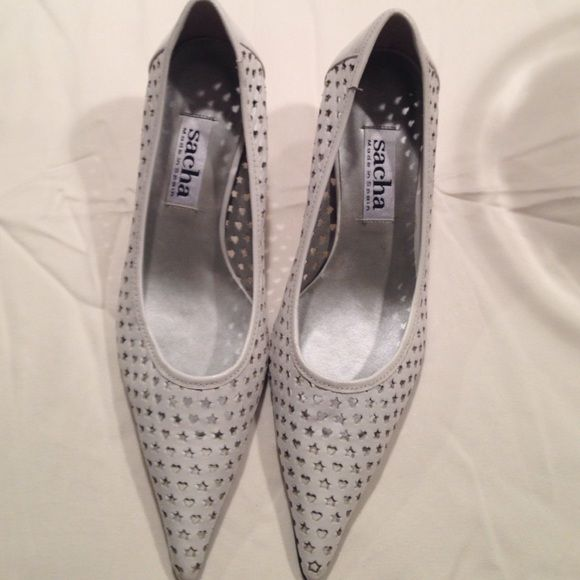 Sacha shoes White leather Sacha shoes. Never worn no trades 3.1 Phillip Lim Shoes Heels