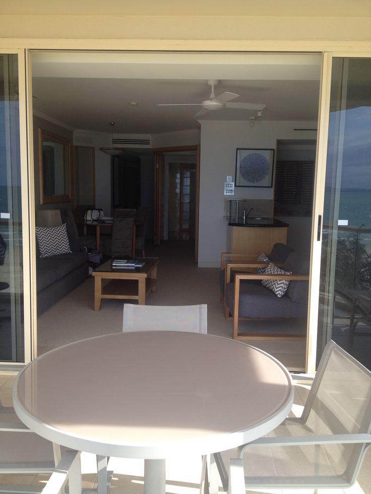 Tingirana Resort, Noosa Qld Room 302 Penthouse. Infinity Pool, Open Beach views, Spa, Kingsize bed - March 2015