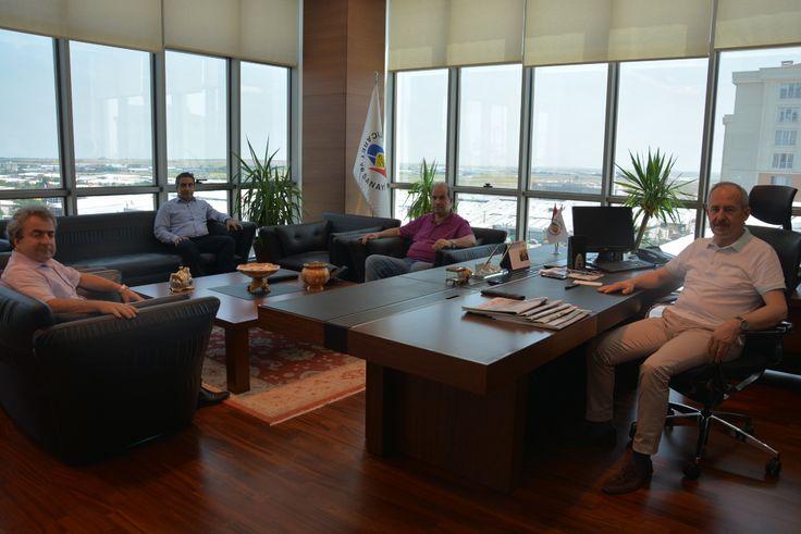 Odamız Yönetim Kurulu Başkanı İbrahim Gönül´e Ziyaret Gerçekleşti