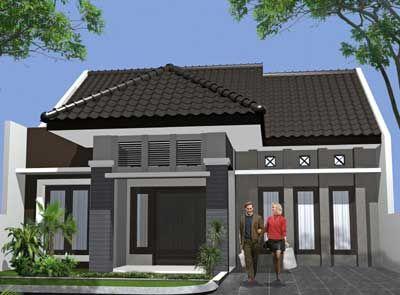 Rumah Minimalis Modern Tipe 70 - Rumah Minimalis