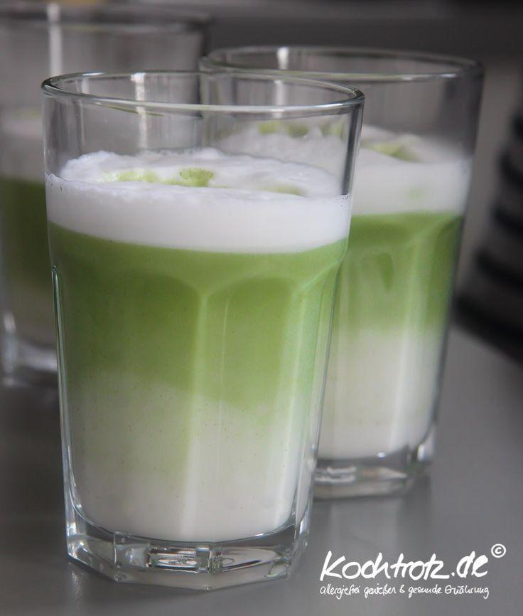 Matcha-Latte – einfaches Rezept – vegan | kochtrotz - Rezepte für Gluten-Unverträglichkeit, Fructose-Intoleranz, Laktose-Intoleranz, Histamin-Intoleranz, Zöliakie, Sorbit-Intoleranz, jetzt auch vegan und sojafrei