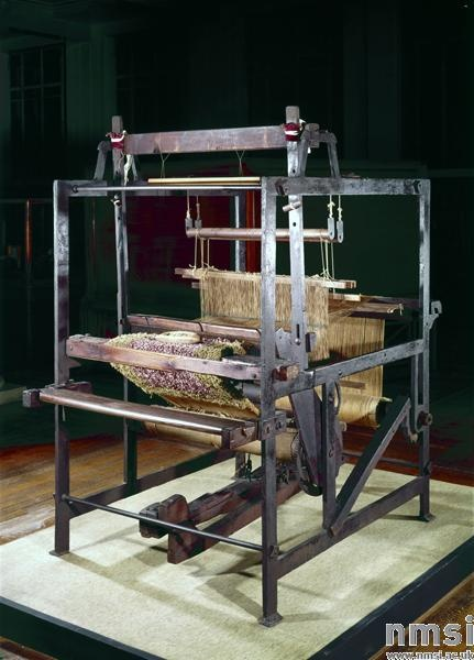 iron carpet loom | U.K. | c. 1832