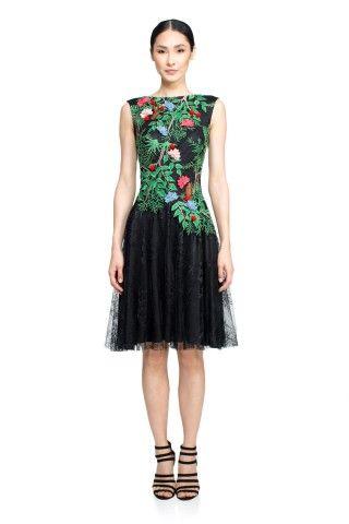 Tadashi Shoji Cape Town Dress