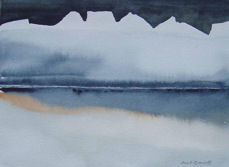 Beautiful water-colour from the norwegian contemporary artist Berit Bjørseth. To see more and order, go to http://artbyhand.no/butikk/billedkunst/berit-bjorseth