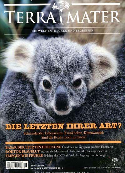 Koalas - Die letzten ihrer Art! Gefunden in: Terra Mater, Nr. 6/2014