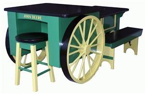Amish John Deere Kitchen Island