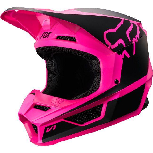 Fox Racing 2019 V1 Przm Helmet Pink Dirt Bike Fox Racing Fox Helmets