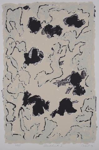 John Peart 'Blackheath I ' - screenprint on paper – Angela Tandori Fine Art