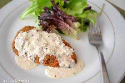 Chicken in Basil Cream Sauce - Life In The Lofthouse