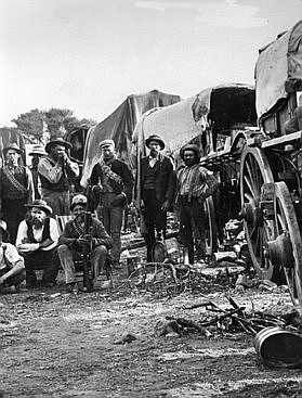 Image ANGLO BOER WAR 1899 - Bethulie Orange Free State - South Africa 1900