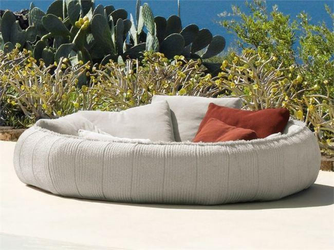 Patio Bereich » 25 coole Ideen für Gartensofa Designs erfrischen die - designer gartensofa indoor outdoor