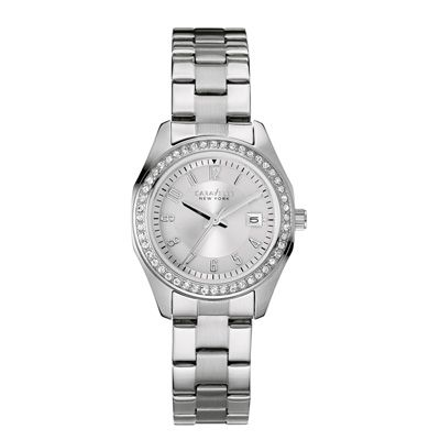 Ladies' Caravelle New York by Bulova Crystal Accent Watch (Model: 43M108) -